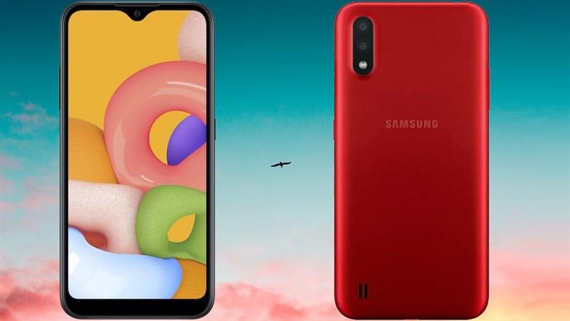 Samsung âm thầm ra mắt smartphone giá rẻ Galaxy A01: Chip 8 nhân, camera kép, RAM lên tới 8GB