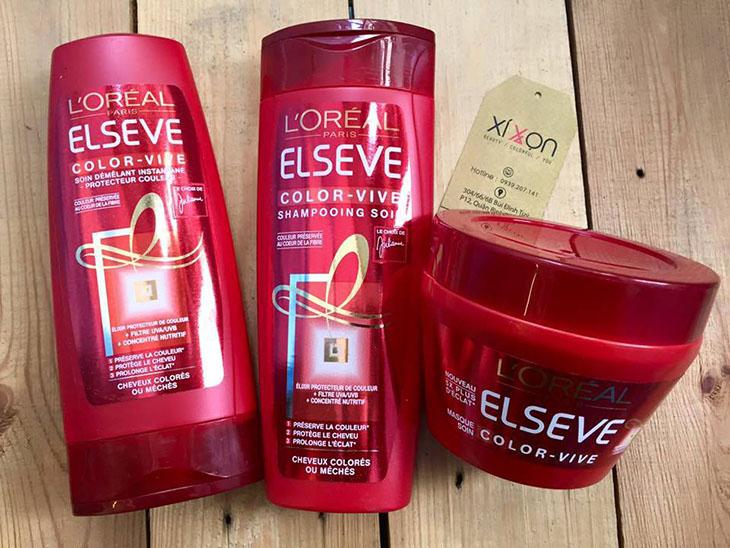Sử dụng dầu gội và dầu xả dành riêng cho tóc nhuộm