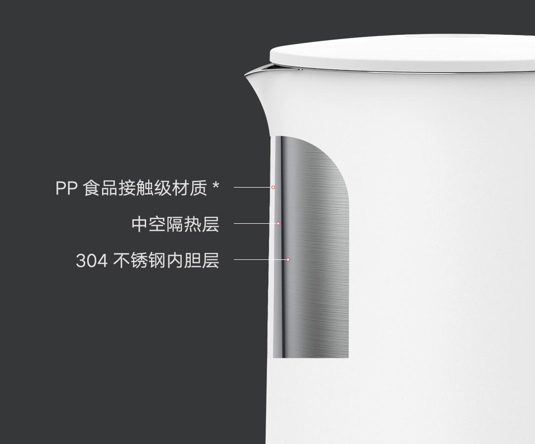 Chất liệu Ấm điện siêu tốc Xiaomi MIJIA 1A