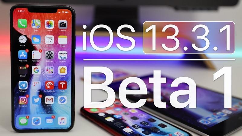 Apple phát hành bản cập nhật iOS/iPadOS 13.3.1 beta 1, khắc phục sự cố của tính năng Giới hạn liên lạc, sửa lỗi và cải thiện hiệu năng thiết bị