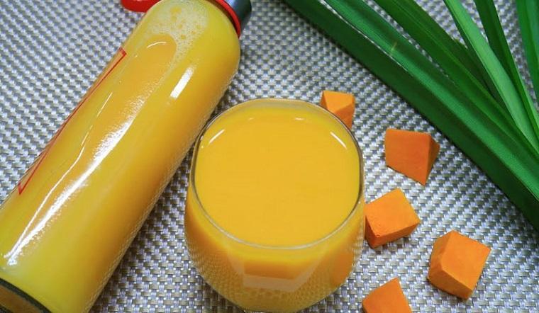 Cách làm sữa bí đỏ thơm ngon, bổ dưỡng của chị Hương