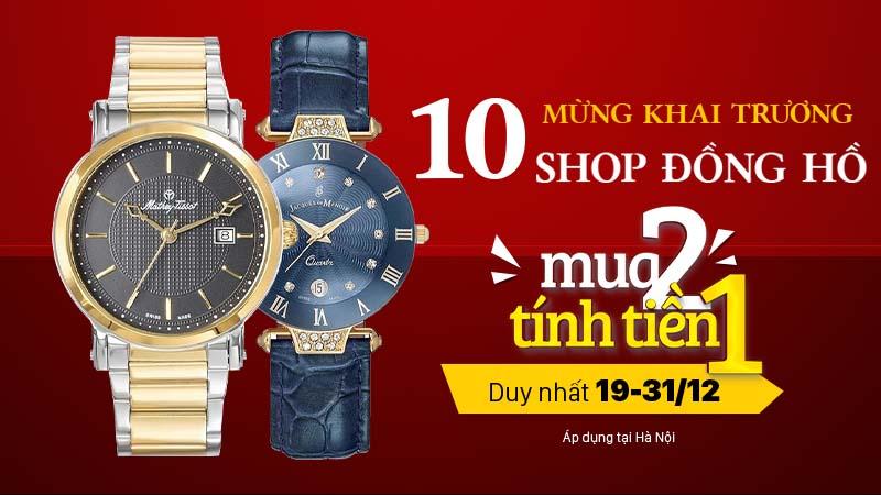 Khai trương shop đồng hồ Hà Nội