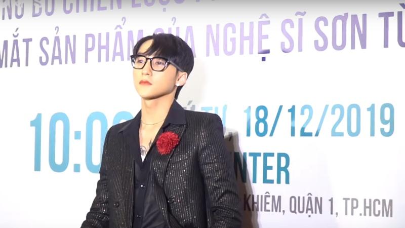 Chủ tịch Sơn Tùng M-TP tại buổi họp báo công bố chiến lược của M-TP Entertainment