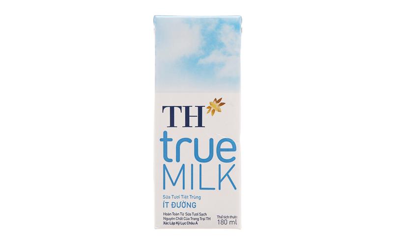 Sữa tươi TH true milk có tốt không?