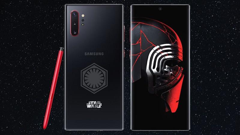 Mời fan tải về bộ hình nền Galaxy Note 10 Plus Star Wars Edition