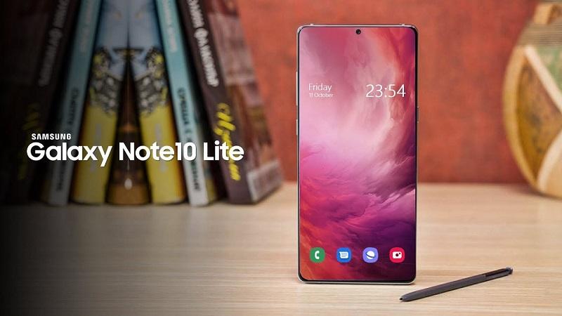 Samsung sẽ sớm trình làng Galaxy Note 10 Lite và đây là bằng chứng