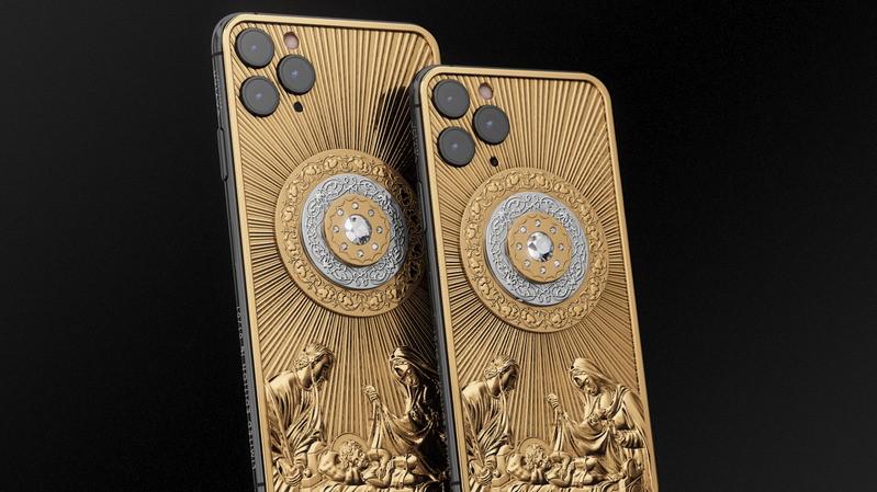 Cực phẩm Credo Christmas Star Diamond: iPhone 11 Pro Max phiên bản vàng giá hơn 3.3 tỷ đồng