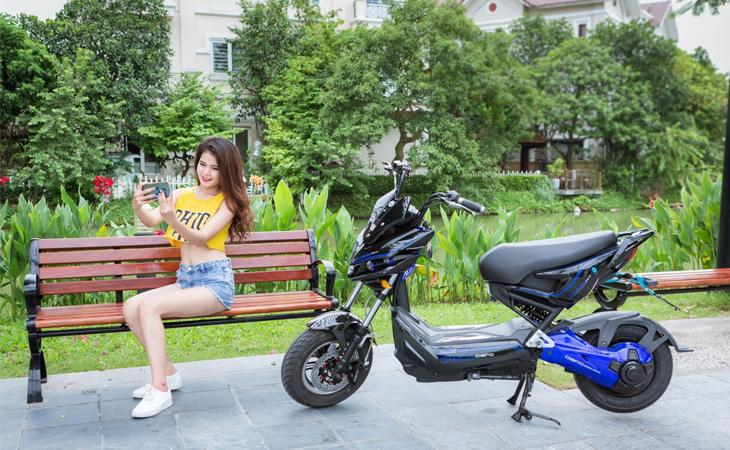 Xe máy điện Jeek Man Dibao