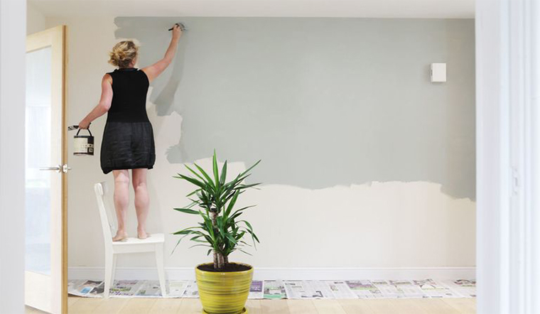 Tết này làm mới căn nhà với các bước sơn lại tường đúng chuẩn