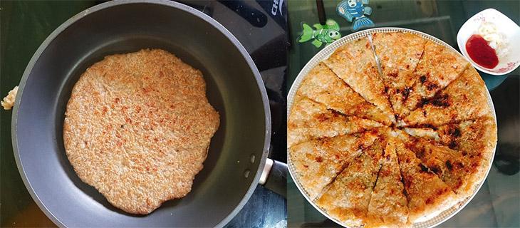 Bước 3 Chiên bánh Bánh chưng, bánh tét chiên nước lọc
