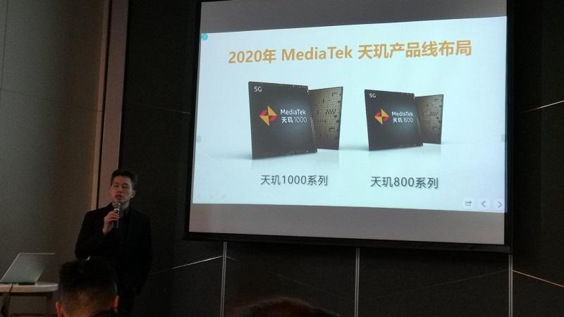 MediaTek nhá hàng chip Dimvity 800, dành cho các smartphone tầm trung và có cả cao cấp