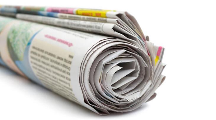 Dùng giấy báo