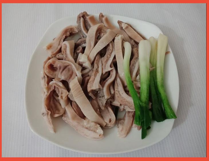 luộc dạ dày ngon theo công thức 3 sôi 4 lạnh