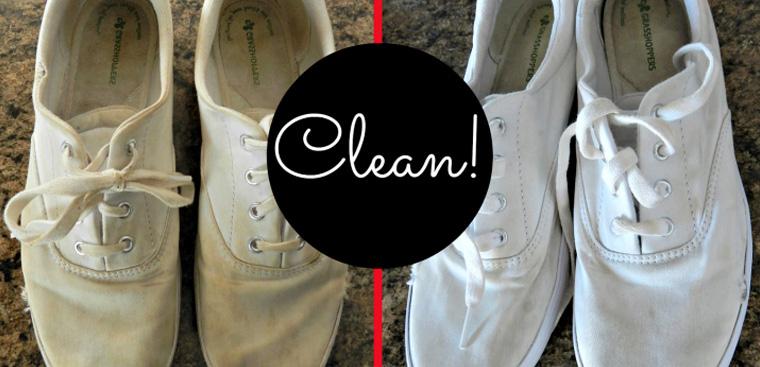 4 cách giặt giày trắng sạch như mới cực đơn giản