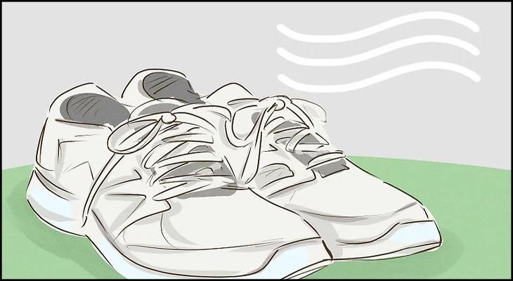Phơi giày