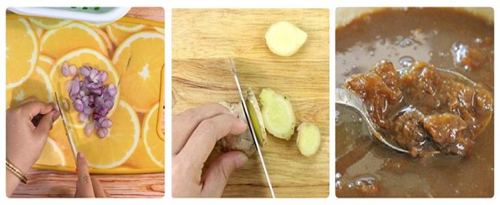 Bước 2 Sơ chế rau củ Lẩu ghẹ  chua cay
