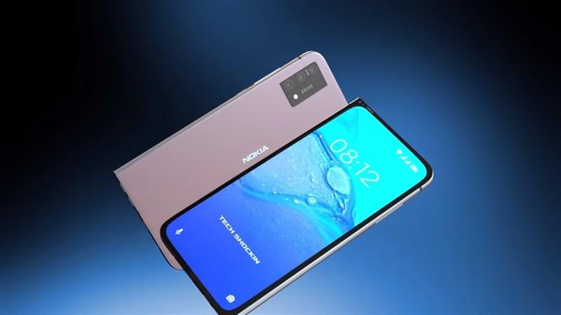 Chiêm ngưỡng mẫu thiết kế Nokia 7610 hình chiếc lá được hồi sinh, đẹp không tỳ vết, có 5G, 3 camera 64MP