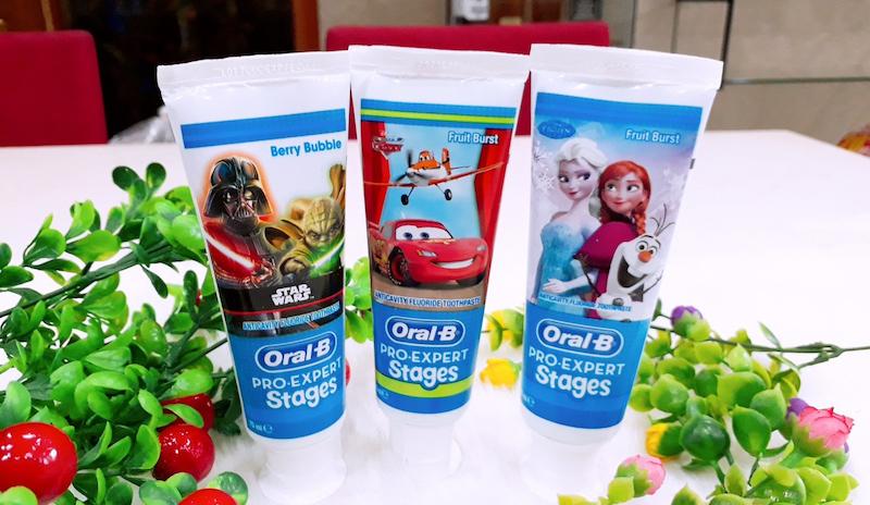 Chọn kem đánh răng nào tốt cho bé?