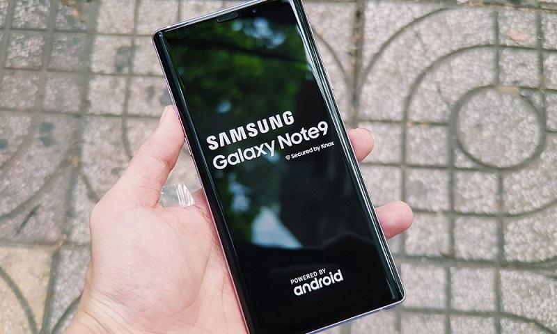 Samsung Galaxy Note 9 chính thức được 'lên đời' Android 10