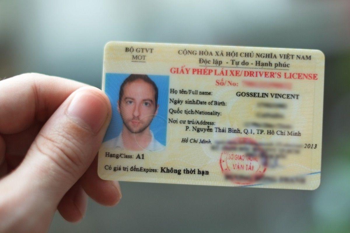 Cấp giấy phép lái xe