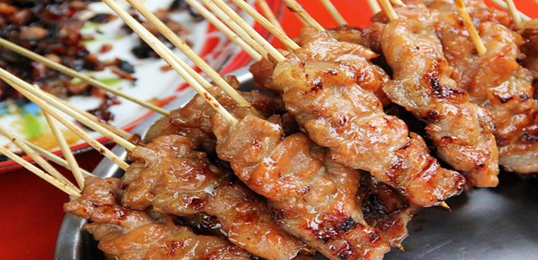Bước 6 Thành phẩm Thịt xiên nướng vỉa hè