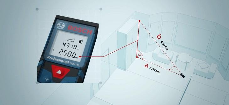 Một số tính năng của máy đo khoảng cách