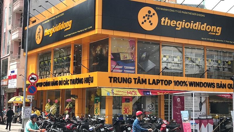 Không những góp mặt trong 'Câu lạc bộ tỷ đô' Việt Nam, Thế Giới Di Động còn đang dẫn đầu về tốc độ tăng trưởng trong những năm gần đây