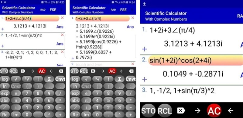 Complex Number Calculator & Scientific Calculator