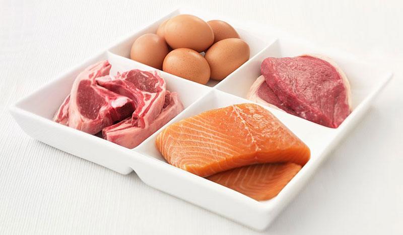 Tăng lượng chất đạm, chất béo tốt trong thực đơn