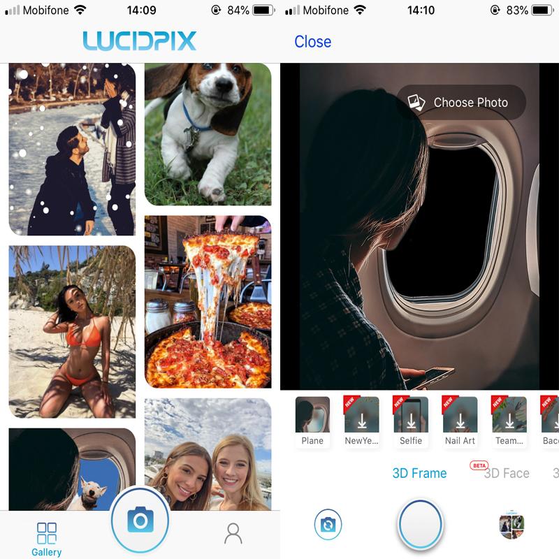 Trải nghiệm LucidPix