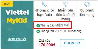 Giá SIM Viettel