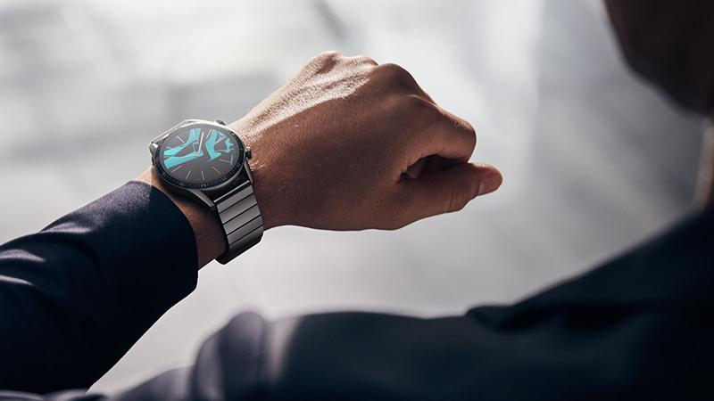 huawei watch gt2 dây kim loại