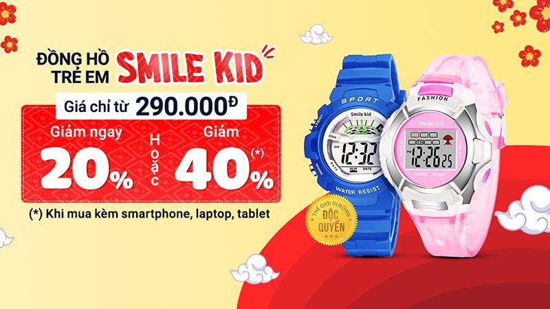 Mở bán đồng hồ Smile Kid