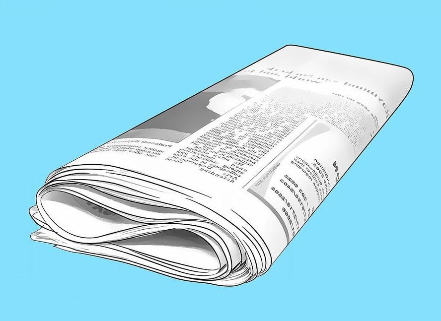 Chuẩn bị một xấp giấy báo