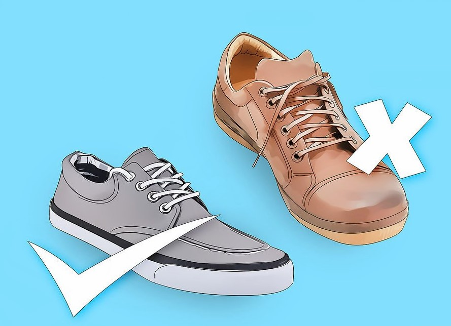 Xem thiết kế, chất liệu của giày
