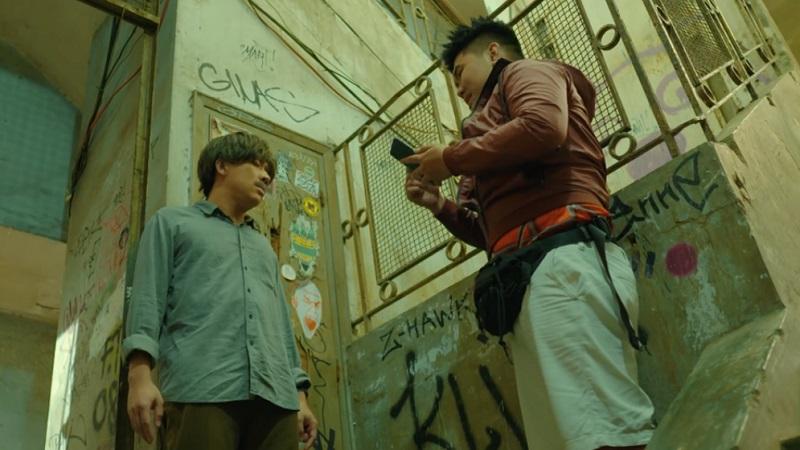 Galaxy A50s xuất hiện trong web drama 'Bố già'