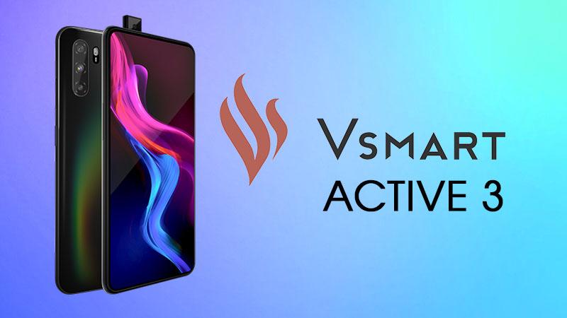 Vsmart Active 3 màu đen