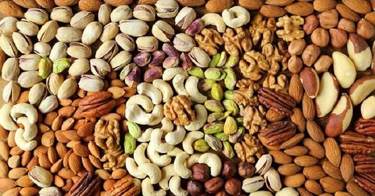 Các loại hạt có hàm lượng carb cực thấp, chứa nhiều chất béo, chất xơ, protein