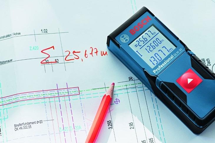 Kiểm tra độ chính xác của phép đo khoảng cách