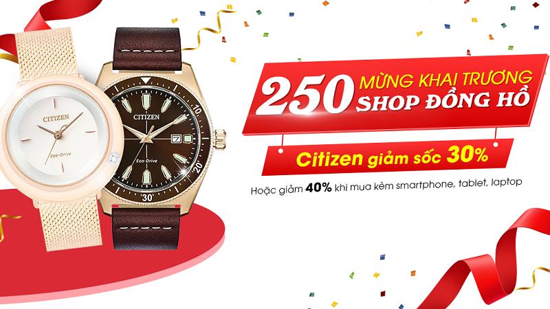 Đồng hồ Citizen giảm giá