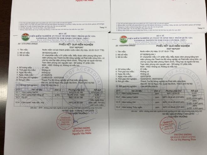 Bộ NN&PTNT công bố cơ sở dùng chất tẩy công nghiệp trong nước mắm