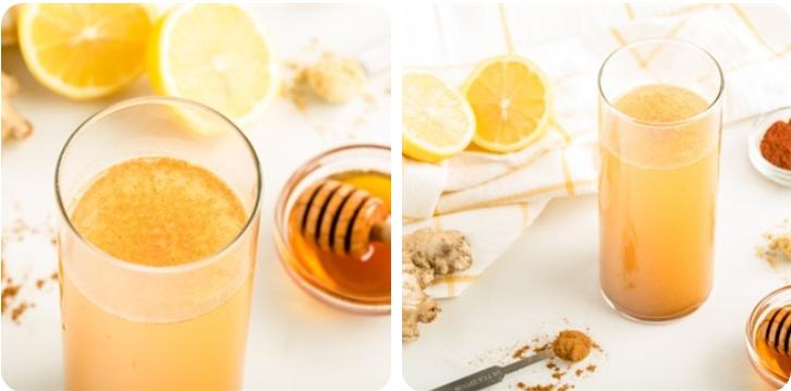 nước chanh mật ong quế