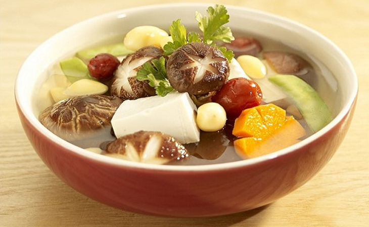 Canh gừng