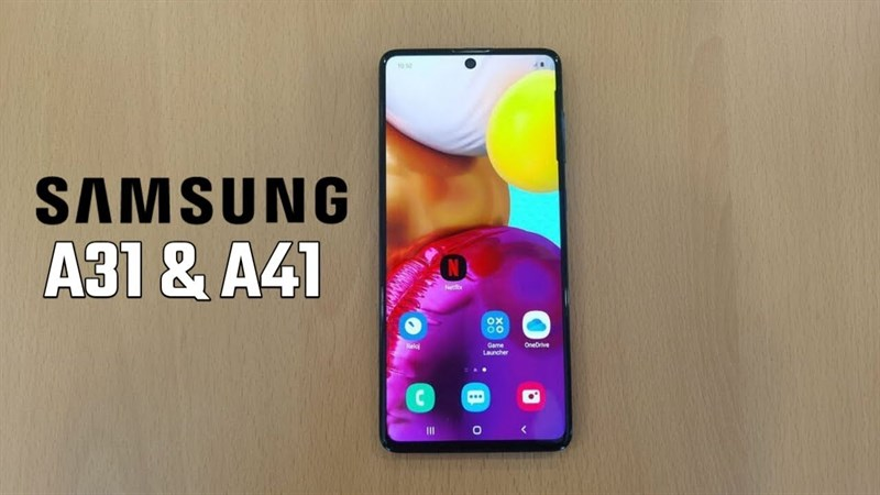 Nhiều thông số kỹ thuật quan trọng của Galaxy A31 và Galaxy A41 bị rò rỉ