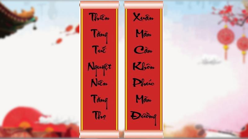 Câu đối Hán Việt