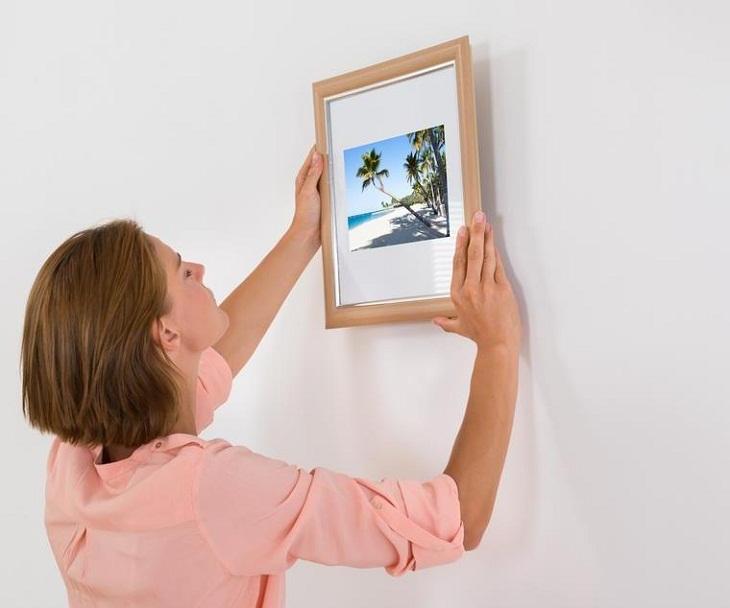 Các mẹo, lưu ý khi treo tranh ảnh trên tường