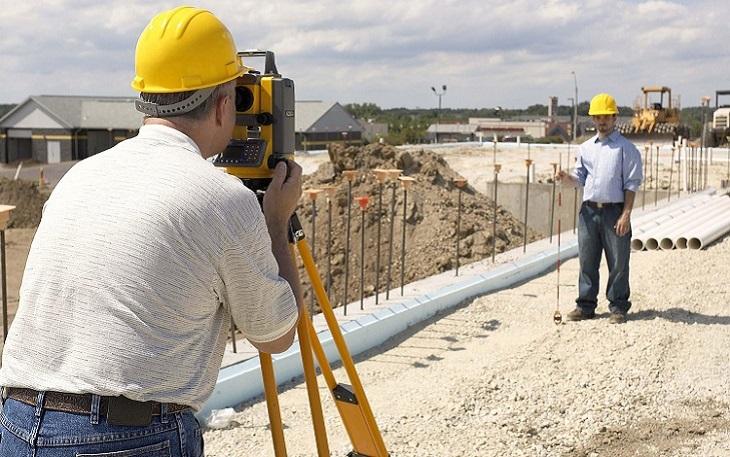 Ứng dụng trong công trình xây dựng, khảo sát thực địa, hệ thống mạng lưới tọa độ