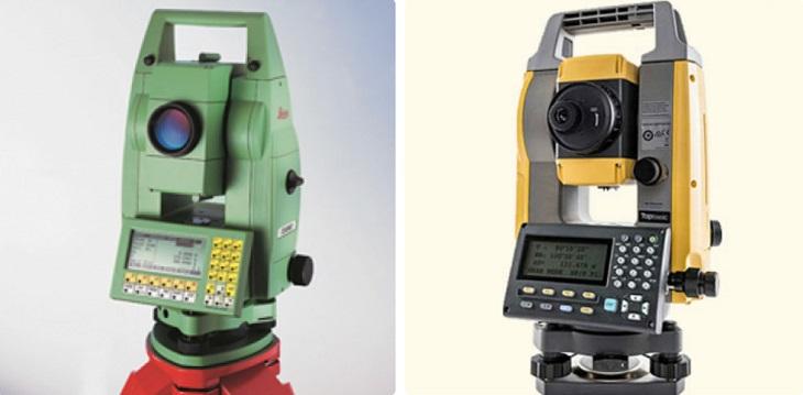 2 dòng máy toàn đạc phổ biến trên thị trường