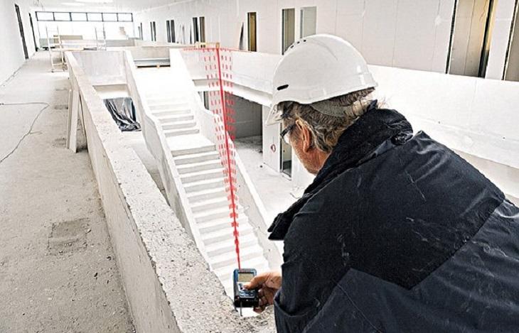 Máy đo khoảng cách laser hiện được sử dụng rộng rãi trong nhiều lĩnh vực