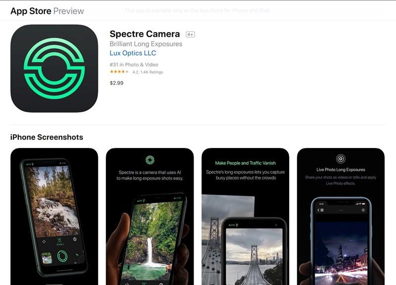 Camera Spectre
